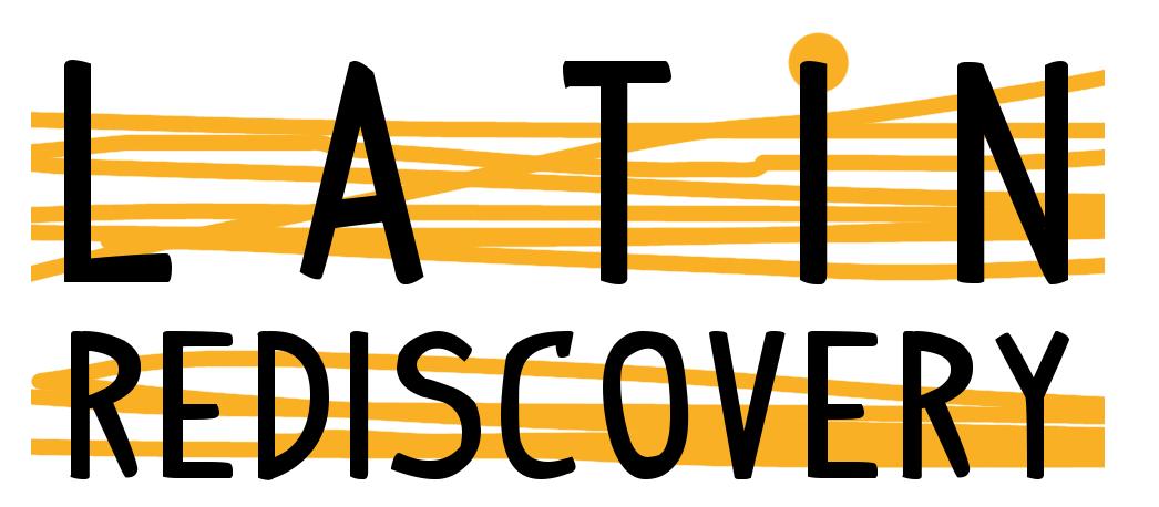 Latin Rediscovery logo white